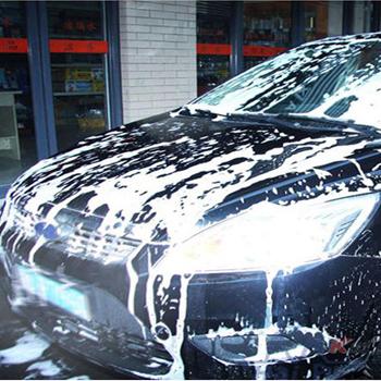 洗车 泡沫洗车 商务车