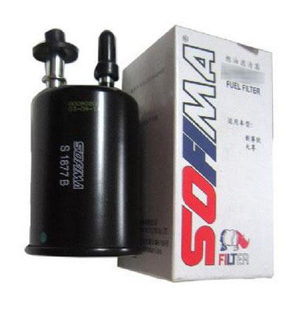 燃油滤更换 索菲玛 外置式