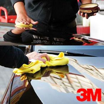 全车打蜡 3M 钢铁侠版升级款水晶硬蜡 PN39526 手工打蜡 商务车