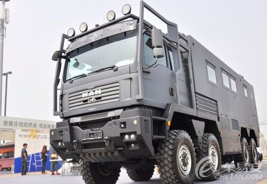 armadillo越野房车车展上,将推出全新基于特种专用卡车底盘制造的