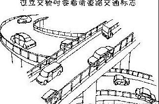 过立交桥的注意事项